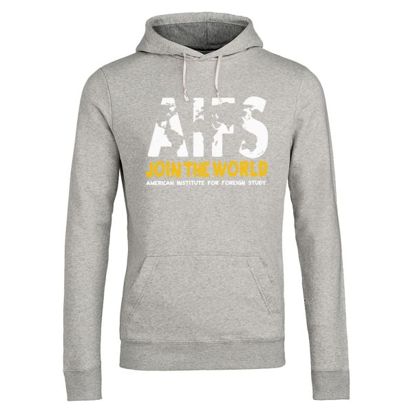 Unisex Hoodie, heather grey, WORLD
