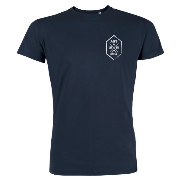 Boys Basic T-Shirt, navy, BUTTON