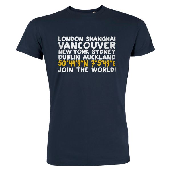 Boys Basic T-Shirt, navy, CITY