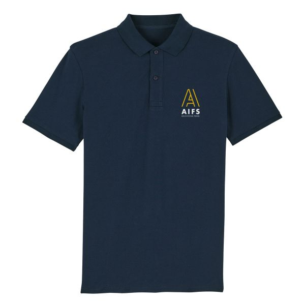 Unisex Polo, navy, corporate