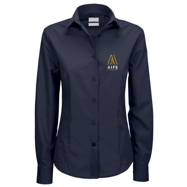 Damen Bluse, navy, corporate