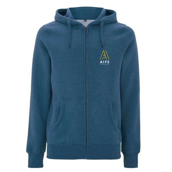 Unisex Zipper, denim heather blue, COUNTRY
